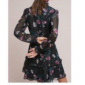 ad8aa06df7c7 Anthropologie Dresses - Anthropologie Donna morgan High-Neck Floral Dress